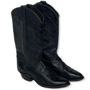 Dan Post Milwaukee Leather Cowboy Western Boot